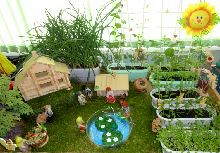 Поделки для детского сада для огорода