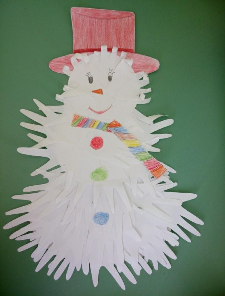 после этих снеговик из ладошек картинки такие манипуляции потяну